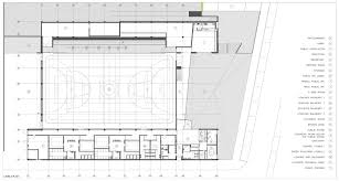Cafeteria Floor Plan gallery of maceda sport building architailors 39