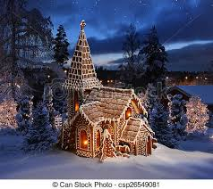 snowy christmas pictures gingerbread church on snowy christmas night landscape pictures