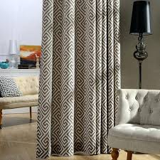 Geometric Curtain Fabric Uk Outstanding Yellow Geometric Curtains Jacquard Eyelet A Chic