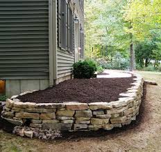 How To Build A Rock Garden Bed 810 Best Retaining Wall Ideas Images On Pinterest Backyard Ideas