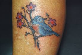 blue bird tattoo by tstctc on deviantart