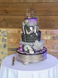 wedding cake essex a stunning essex wedding with a tim burton theme a purple