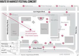 las vegas blvd map map this is where the las vegas mass shooting happened orange