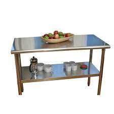 Stainless Steel Kitchen Island Cart by Best 25 Stainless Steel Prep Table Ideas On Pinterest Stainless