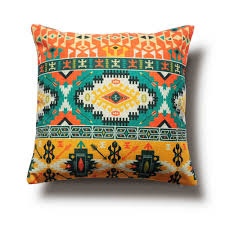 colorful pillows for sofa aliexpress com buy colorful ethnic patterns pillow cover