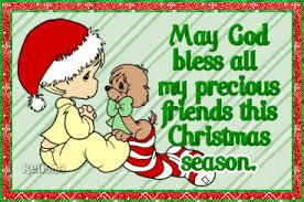 god bless precious friends christmas season
