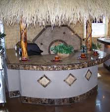 Tiki Hut Paradise Paradise Outdoor Kitchen Outdoor Kitchens Gas Grills Awnings Tiki