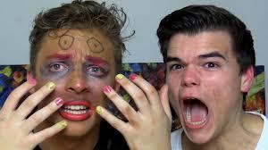 Challenge Kwebbelkop Makeup Challenge With