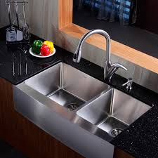 Stainless Faucets Kitchen Double Faucet Kitchen Sink Captainwalt Com