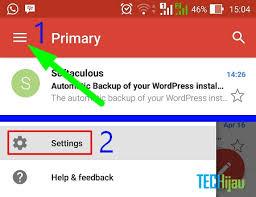 cara membuat akun gmail terbaru cara membuat akun email baru menggunakan android techijau
