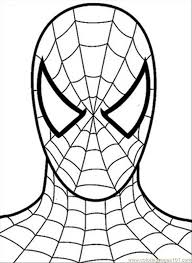 spiderman printable coloring pages kids coloring