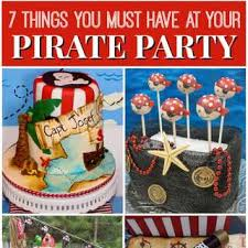 pirate birthday party party ideas catch my party