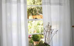 curtains amazing white linen curtains white cotton voile curtain