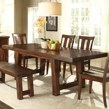 Bassett Dining Room Sets Hooker Furniture Sanctuary Refectory Trestle Dining Table Dune
