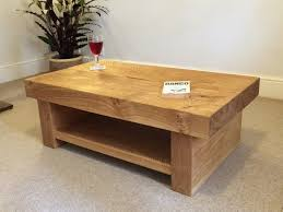 Solid Oak Coffee Table Design Of Oak Coffee Table Rustic Oak Coffee Tables Amazing