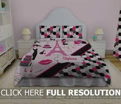 paris bedding for girls paris bedspread queen home beds decoration