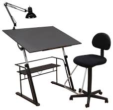 Drafting Table Set 3 Piece Zenith Drafting Set Modern Drafting Tables By Studio