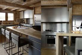 cuisine chalet montagne inspirations à la maison spectaculaire emejing cuisine bois style