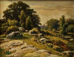 Rhode Island Landscapes images Eugene ferguson rhode island 19th 20th century landscape of a jpg