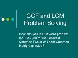 56 best hcf u0026 lcm images on pinterest teaching math greatest