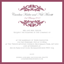 sle wedding invitations wedding invitation wording sles with ucwords card design ideas