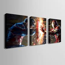 superman home decor e home oil painting superman theme decoration painting home decor