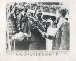 1950 dr kamil idil turkey diplomat arrives w troops pusan korea