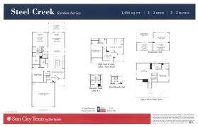 sun city tx new garden series model floor plans court