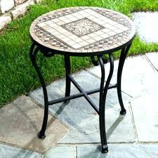 lowes outdoor side table outdoor accent tables outdoor accent tables lowes furniture side