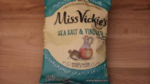 food review miss vickie u0027s potato chips sea salt and vinegar youtube