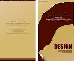 Designs Of Menu Card Menu Cards Vectors