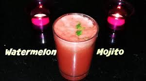 watermelon mojito watermelon mojito a simple and quick mocktail youtube
