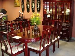 Oriental Dining Table by Oval Rosewood Dining Set In Ming Style Oriental Rosewood Oval