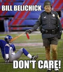 Funny Ny Giants Memes - bill belichick don t care