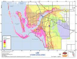 Cape Coral Fl Map Hurricane Central Wink News