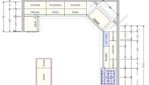 small kitchen floor plans with dimensions thehomestyleco cabinet
