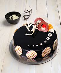 deliver birthday cake and balloons order rich truffle cake online delivery in mumbai ribbons and