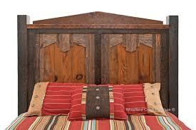 barn wood bed western bed southwestern bedroom furniture