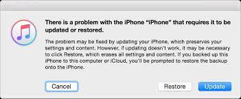 for to be if you can t update or restore your iphone or ipod touch