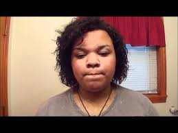 haistyle for african amerucan hair permed curly perm on short hair youtube