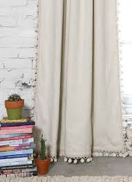 Plum And Bow Curtains Plum Bow Blackout Pompom Curtain Bows Curtains And For