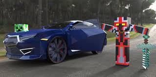 minecraft car design minecraft meets real world minecraft blog