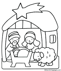 preschool coloring pages christian christmas coloring pages for preschoolers colouring worksheets
