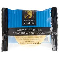 wholesale individually wrapped cookies wholesale cafe cookies individualy wrapped 60g byron bay white