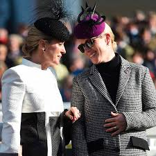 Princess Anne Princess Anne And Daughter Zara Tindall Step Out At Cheltenham And