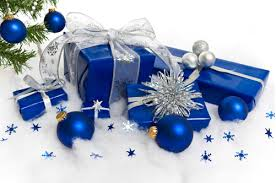 stunning christmas tree with blue decorations ideas decorating