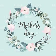 Card Invitation Mothers Day Greeting Card Invitation Brush Script Calligraphic