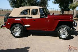 willys jeepster for sale jeepster 1951 professional restoration