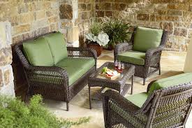 Casual Patio Furniture Sets - mason green easton 4 piece deep seating set outdoor living