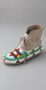 House Of Harlow 1960 Beaded House Of Harlow 1960 Maddie Beaded Suede Moccasin Booties Shopbop